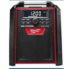 MILWAUKEE M18 radio/ ładowarka M18 RC-0 4933446639